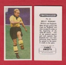 Wolverhampton Wanderers Billy Wright England